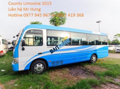 Bán xe County 29 chỗ Limousine 2015